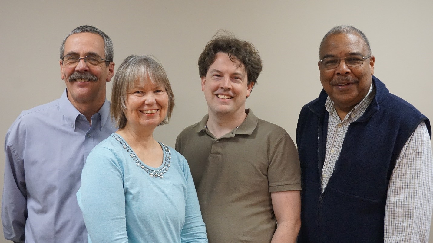 Left to Right: Ray Alary, Carol Hawkins, Jeremy Mullin, McDaniel Phillips